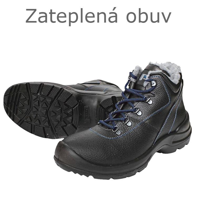 5dbee0263e ... Zateplená členková obuv