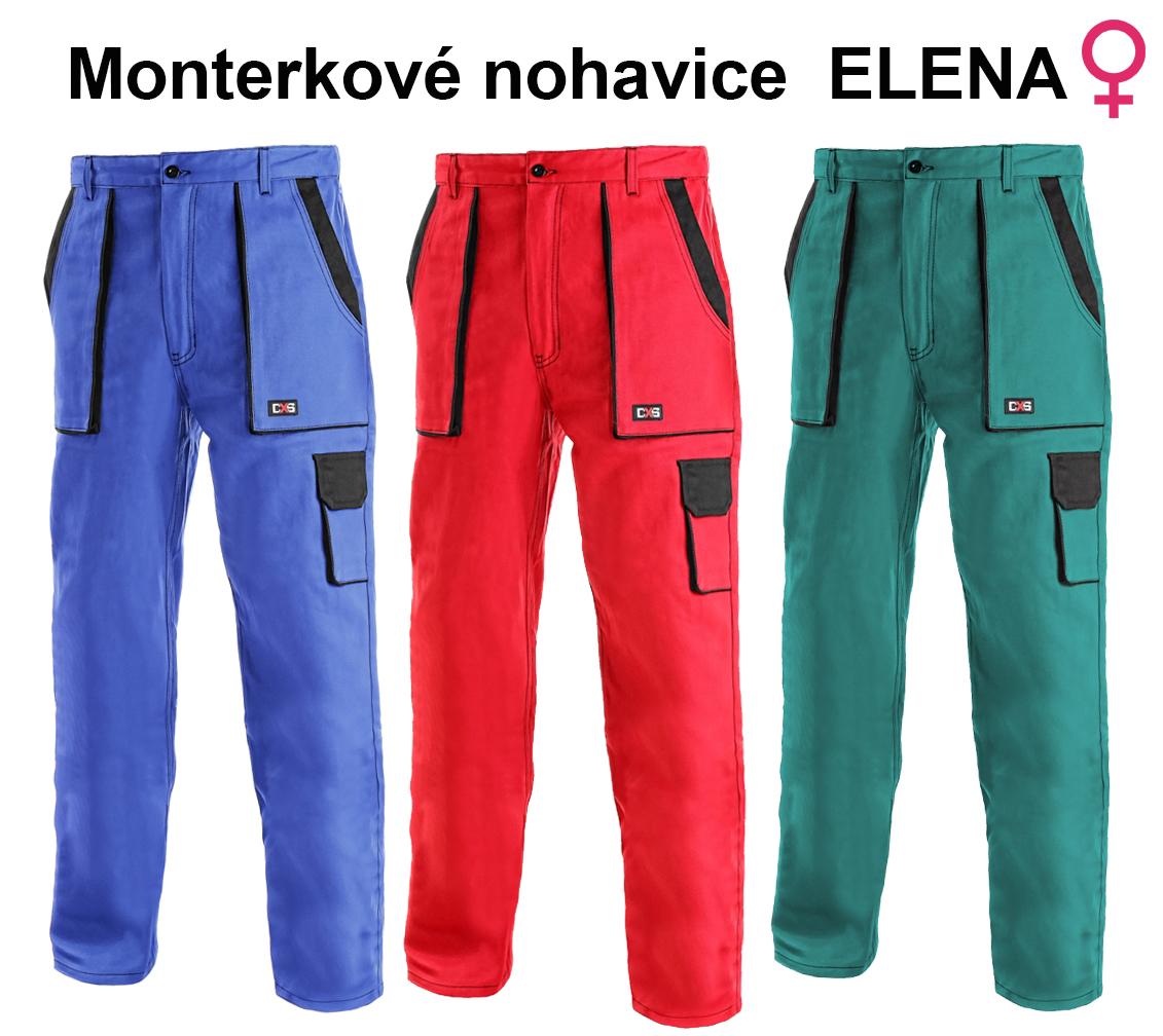 3016a2114b35 Pracovné odevy - Montérkové kraťasy ELENA dámske