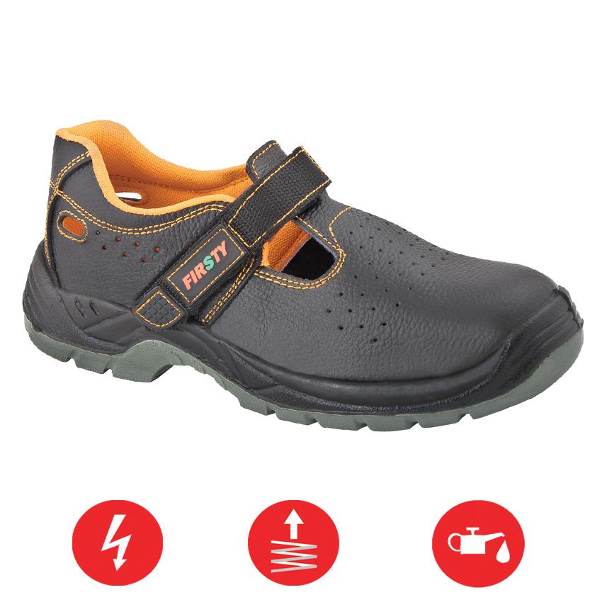 Pracovná obuv – Sandále FIRSTY FIRSAN S1P fd1225f29b