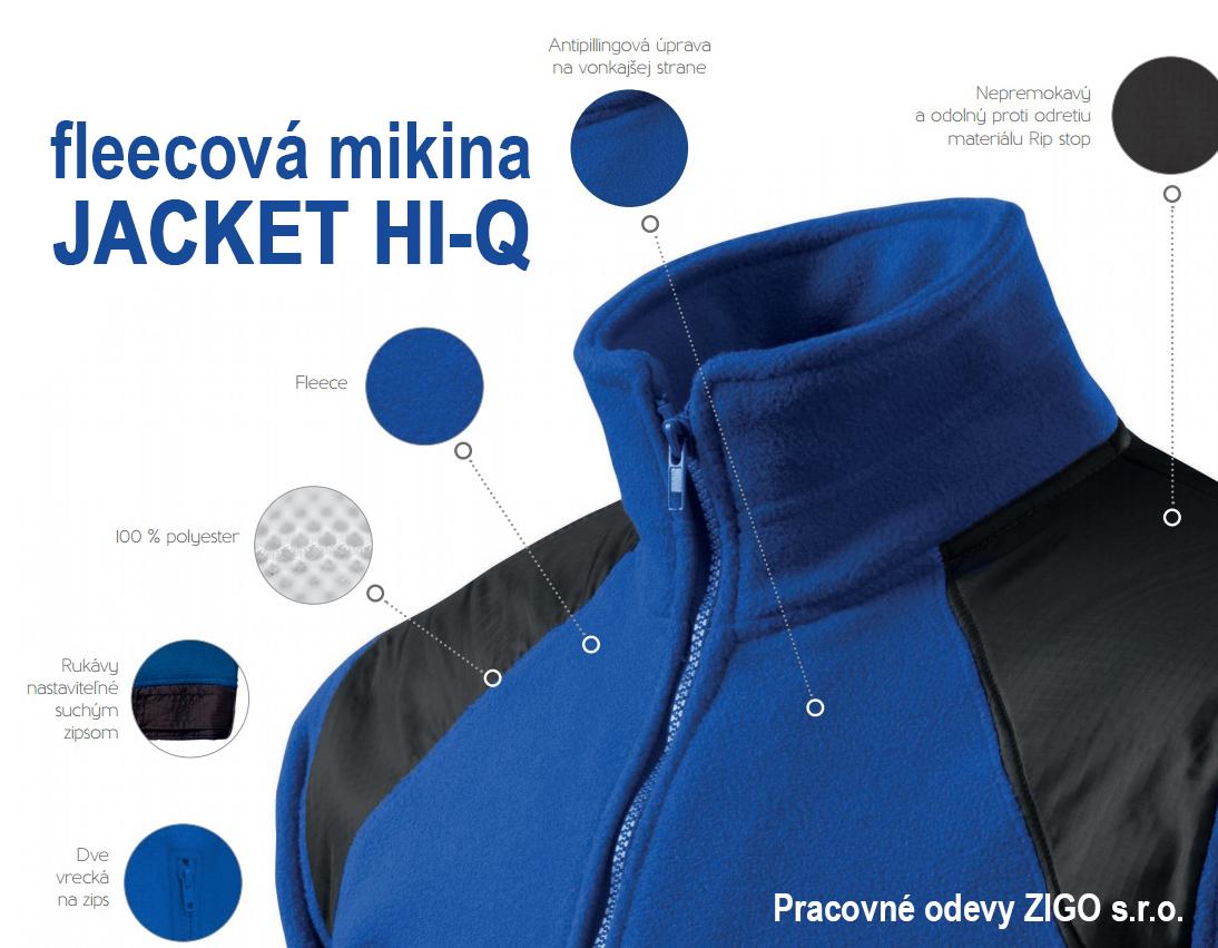2629af114b7 Pracovné odevy - Fleecová bunda Adler Jacket Hi-Q 360 unis