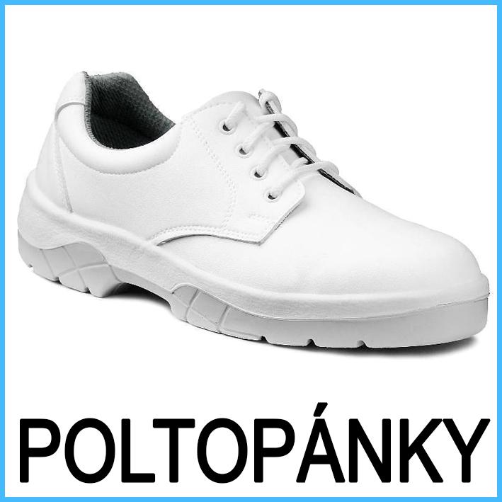 Pracovná obuv biela - sandále eabb37647d1