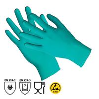 Antistatické jednorazové rukavice TOUCH N TUFF 92-600 nitrilové nepudrované (CR*)