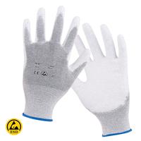 Antistatické rukavice EPA TOUCH máčané v polyuretáne
