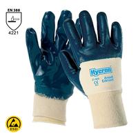 Antistatické rukavice HYCRON 27-600 (Ansell) máčané v nitrile