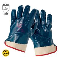 Antistatické rukavice HYCRON 27-805 (Ansell) máčané v nitrile