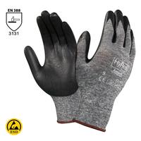 Antistatické rukavice HYFLEX FOAM 11-801 (Ansell) máčané v nitrile