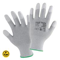 Antistatické rukavice PULSE TOUCH máčané v polyuretáne