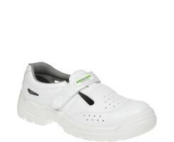 Bezpečnostné sandále ADAMANT White S1