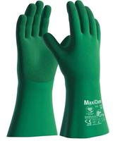 Chemické rukavice ATG MaxiChem 76-830 s TRItech máčané v nitrile