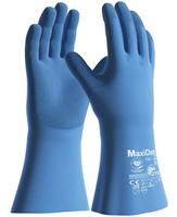 Chemické rukavice ATG MaxiChem Cut 76-733 s TRItech máčané v latexe