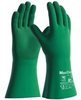 Chemické rukavice ATG MaxiChem Cut 76-833 s TRItech máčané v nitrile
