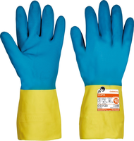 Chemické rukavice CASPIA FH máčané