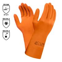 Chemické rukavice EXTRA  87-955 latexové (Ansell)
