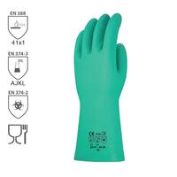 Chemické rukavice INTERFACE PLUS nitrilové