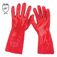 Chemické rukavice RAY máčané v PVC