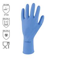 Chemické rukavice SEMPERVELVET latexové