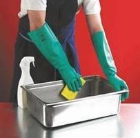 Chemické rukavice SOL-VEX 37-185 (Ansell) nitrilové