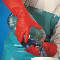 Chemické rukavice SOL-VEX PREMIUM 37-900 (Ansell) nitrilové (CR*)