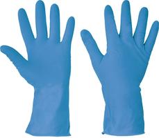Chemické rukavice STARLING BLUE latexové