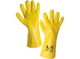 Chemické rukavice TEKPLAST PVC