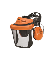 Chrániče sluchu s drôteným štítom štítom PELTOR G500V5H510-OR