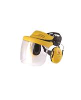 Chrániče sluchu s plastovým štítom PELTOR G500V5FH510-GU