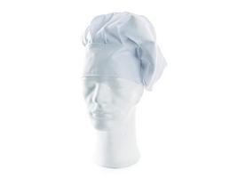 Čiapka CXS LUDVA biela kuchárska bareta