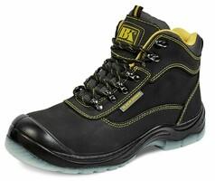 Členková bezpečnostná obuv BLACK KNIGHT S1