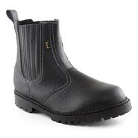 Členková bezpečnostná obuv WORK DRAGO S1 zváračská