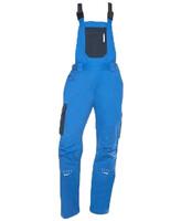 Dámske montérkové nohavice 4TECH s náprsenkou