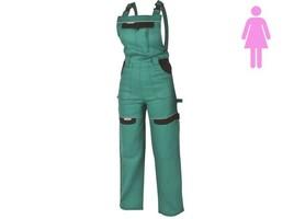 Dámske montérkové nohavice COOL TREND s náprsenkou