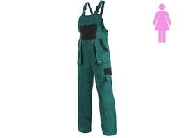 Dámske montérkové nohavice CXS LUXY SABINA s náprsenkou