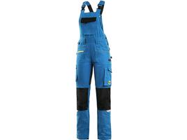 Dámske montérkové nohavice CXS STRETCH s náprsenkou