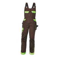 1fe91063e35 ... Nohavice YOWIE s náprsenkou hnedá zelená č.34