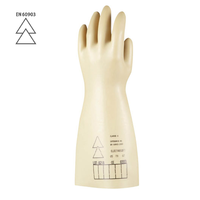 Dielektrické rukavice ELECTROSOFT do 1000 V latexové