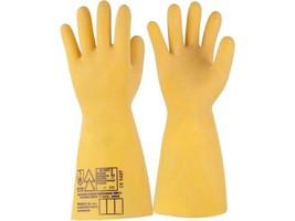 Dielektrické rukavice ELEKTRA do 1000 V máčané v latexe