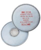 Filter 3M 2138 P3 s aktívnym uhlím - kvapalné a pevné častice