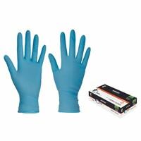 Jednorazové rukavice BARBARY nitrilové pudrované