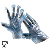 Jednorazové rukavice DUCK BLUE polyetylénové