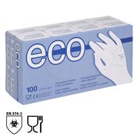 Jednorazové rukavice ECO Latex pudrované