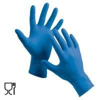 Jednorazové rukavice HS-06-001 nitrilové nepudrované