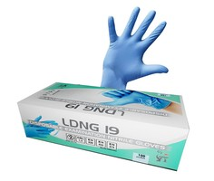 Jednorazové rukavice LDNG19 nitrilové nepudrované
