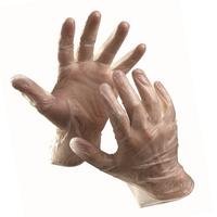 Jednorazové rukavice MOSE vinylové pudrované