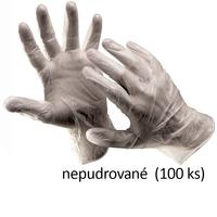 Jednorazové rukavice RAIL NON vinylové nepudrované