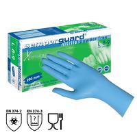 Jednorazové rukavice Semperguard XTENSION nitrilové nepudrované