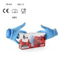Jednorazové rukavice STERN nitrilové nepudrované