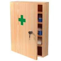 Lekárnička nástenná (drevená)