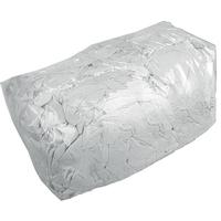 Lisovaný textil biely (10 kg)