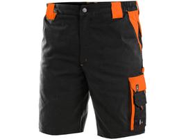 Kraťasy BRIGHTON čierno-oranžové 62***