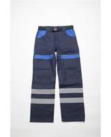 Montérkové nohavice COOL TREND reflex do pása